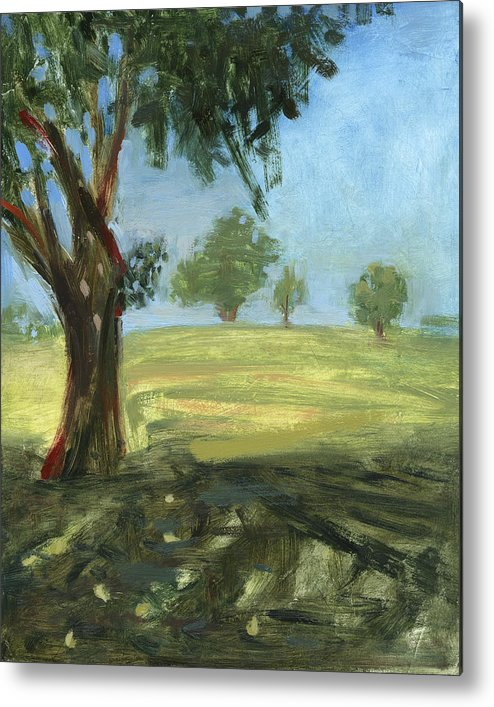 Trees Metal Print featuring the painting Rcnpaintings.com by Chris N Rohrbach