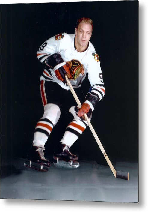 classic Metal Print featuring the photograph Bobby Hull by Retro Images Archive