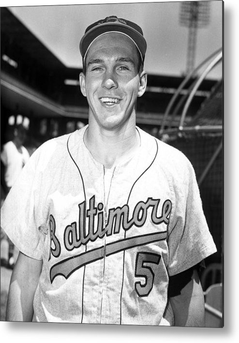 classic Metal Print featuring the photograph Brooks Robinson by Retro Images Archive