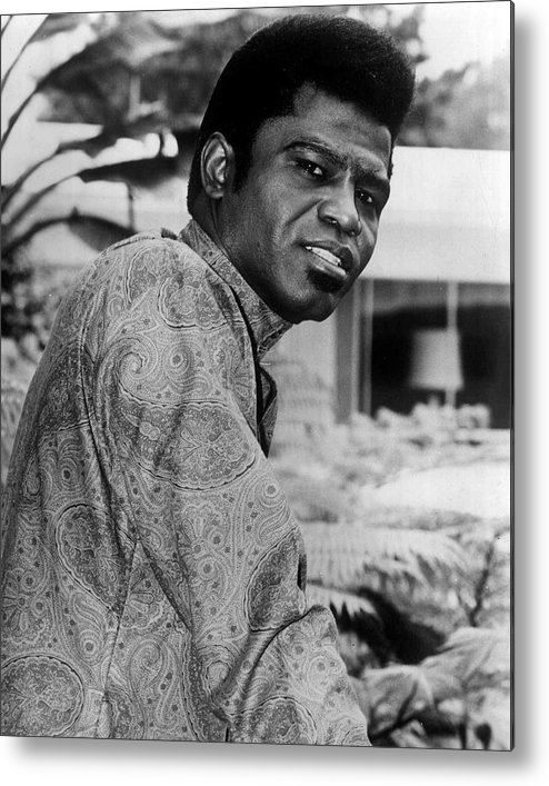 classic Metal Print featuring the photograph James Brown by Retro Images Archive