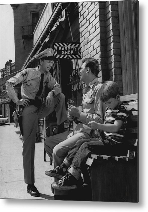 classic Metal Print featuring the photograph Andy Griffith by Retro Images Archive