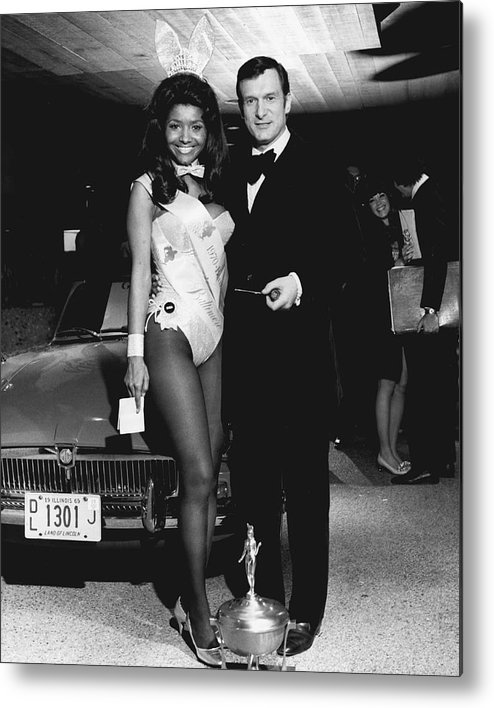 classic Metal Print featuring the photograph Hugh Hefner by Retro Images Archive