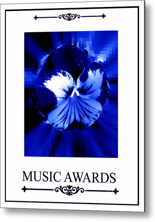 Fashion Metal Print featuring the digital art Music Awards by Meiers Daniel