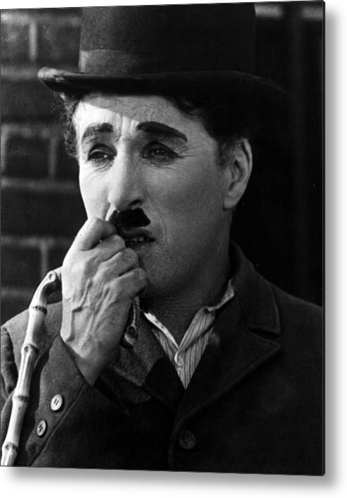 classic Metal Print featuring the photograph Charlie Chaplin by Retro Images Archive
