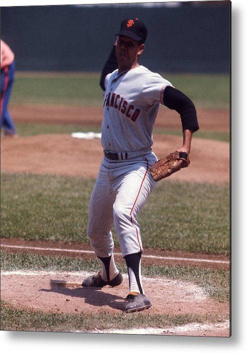 classic Metal Print featuring the photograph Juan Marichal by Retro Images Archive