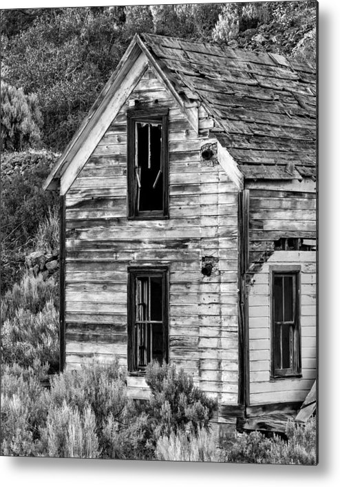 2013 Metal Print featuring the photograph Abandoned Farmhouse - Alstown - Washington - May 2013 by Steve G Bisig