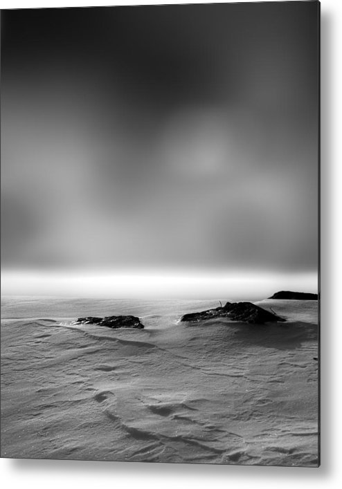 Winter Metal Print featuring the photograph Before Sunrise by Bob Orsillo
