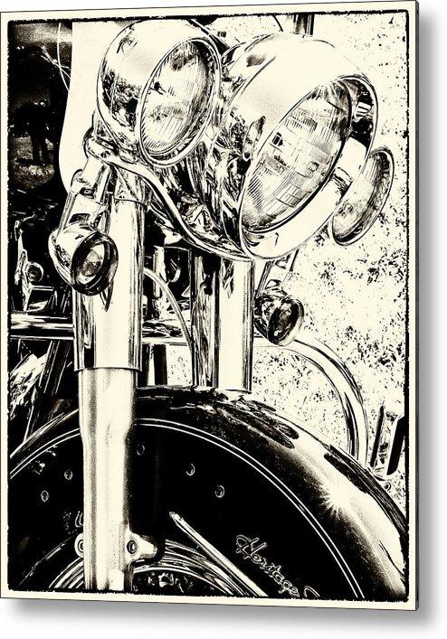 Bike Metal Print featuring the photograph Bike II by Tami Stieger