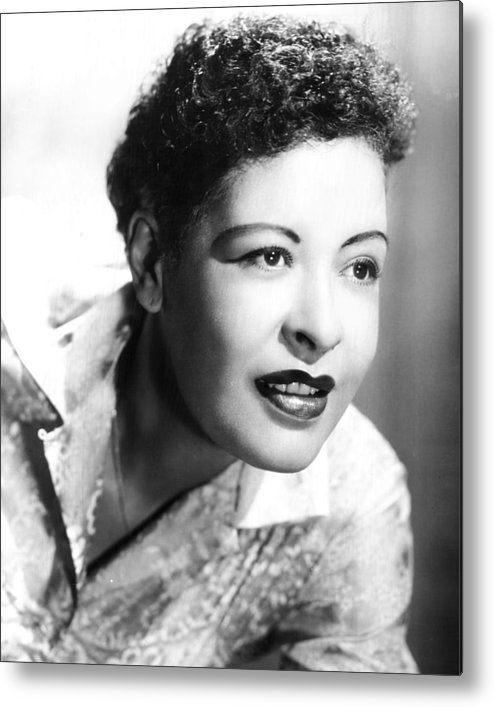 classic Metal Print featuring the photograph Billie Holiday by Retro Images Archive