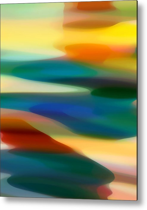 Bold Metal Print featuring the painting Fury Seascape 3 by Amy Vangsgard