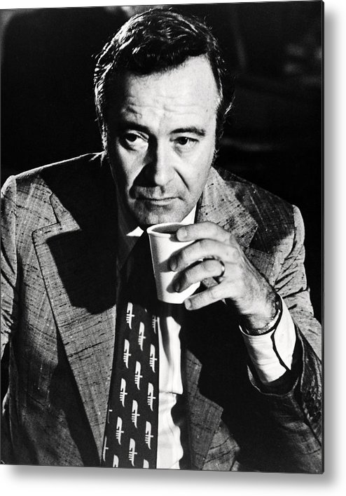 Save The Tiger Metal Print featuring the photograph Jack Lemmon In Save The Tiger by Silver Screen