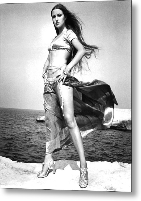 Sinbad And The Eye Of The Tiger Metal Print featuring the photograph Jane Seymour In Sinbad And The Eye Of The Tiger by Silver Screen