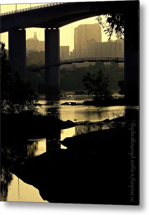 Shadows Metal Print featuring the photograph Morning Shadows by Mickey Murphy