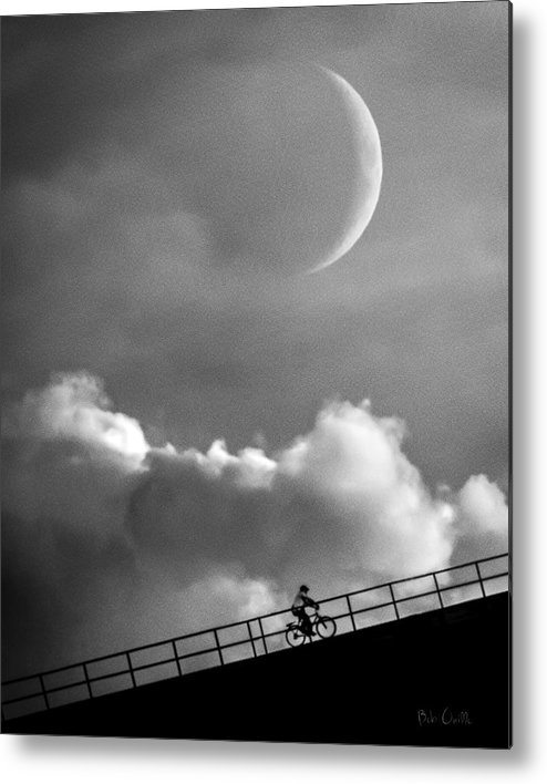Crescent Moon Metal Print featuring the photograph No Turning Back by Bob Orsillo