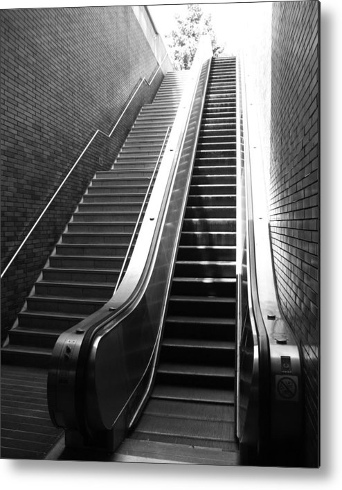 Stairs Metal Print featuring the photograph Oakland Station by Todd Hartzo