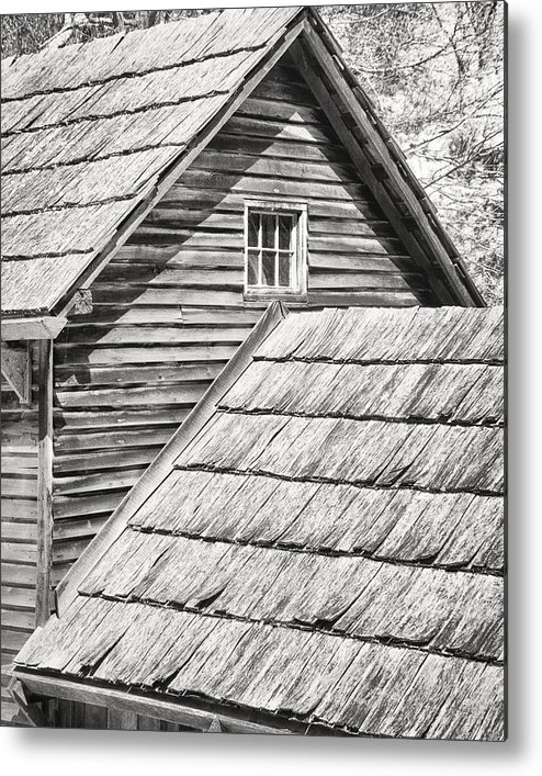 Architecture Metal Print featuring the photograph Room With A View by William Beuther