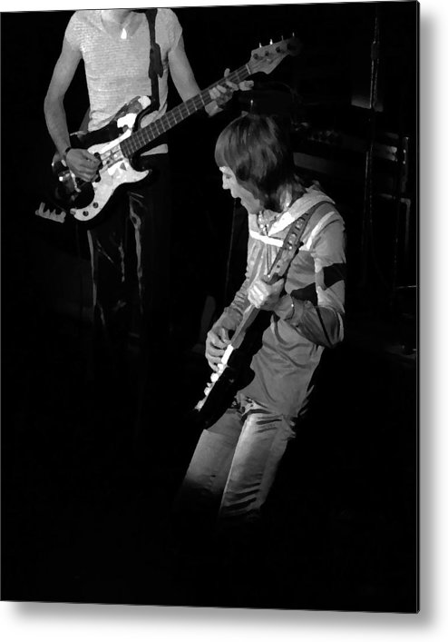 Robin Trower Metal Print featuring the photograph Rt #13 Enhanced Image by Ben Upham