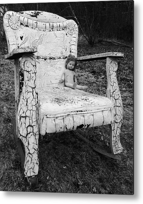 Antique Metal Print featuring the photograph Ruined Childhood by Joel White