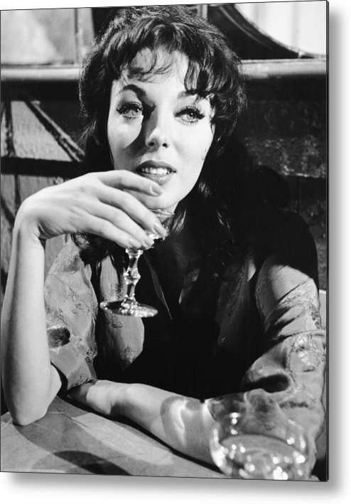 1960 Movies Metal Print featuring the photograph Seven Thieves, Joan Collins, 1960 by Everett