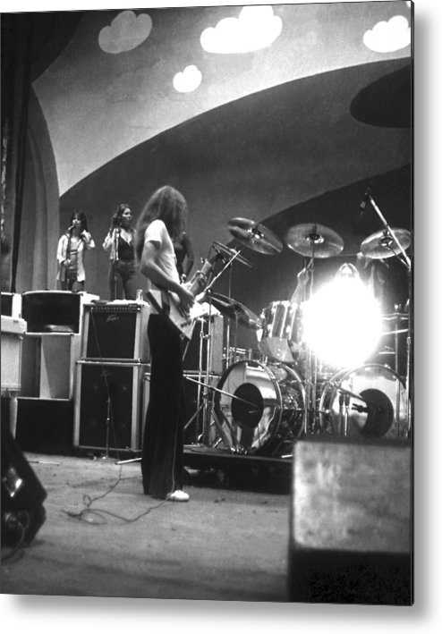 Lynyrd Skynyrd Metal Print featuring the photograph Soundcheck #8 by Ben Upham