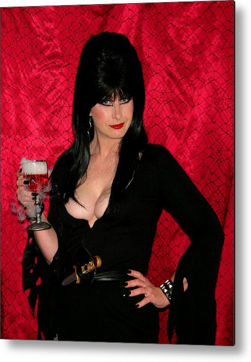 Elvira Metal Print featuring the photograph Toasty by Kristin Elmquist