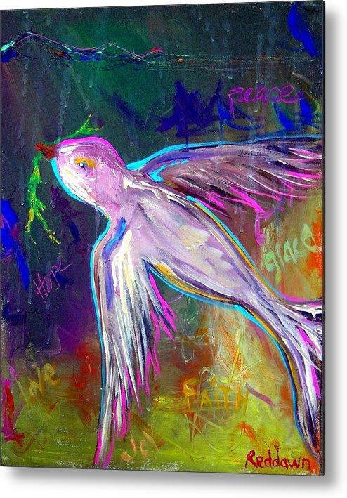 Jesus Metal Print featuring the painting Transcending by Dawn Gray Moraga