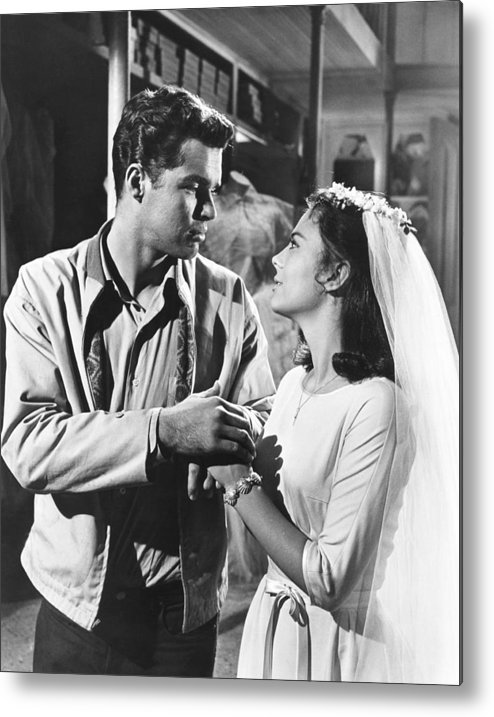 1960s Movies Metal Print featuring the photograph West Side Story, From Left Richard by Everett