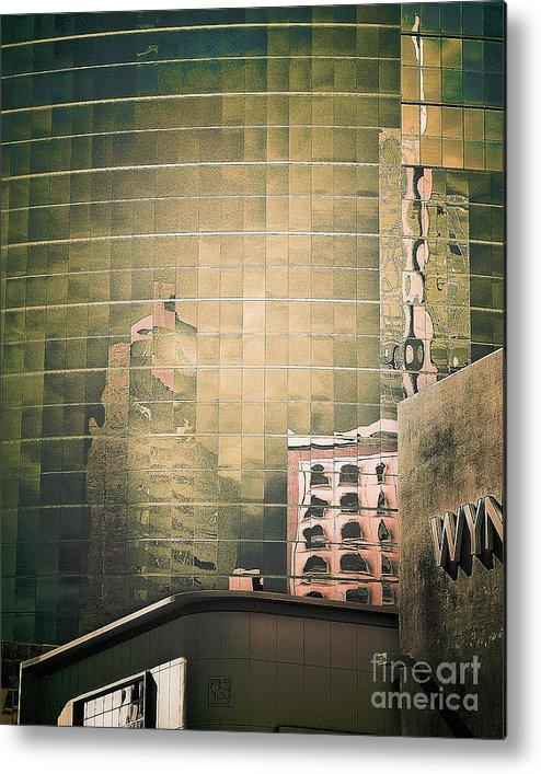 Arne J Hansen Metal Print featuring the photograph Wyndham by Arne Hansen