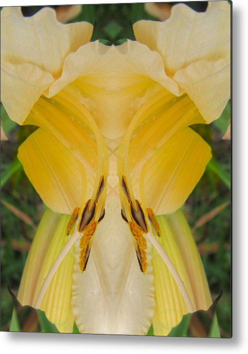 Color Blend Metal Print featuring the photograph Yellow Fantasy by Michele Caporaso