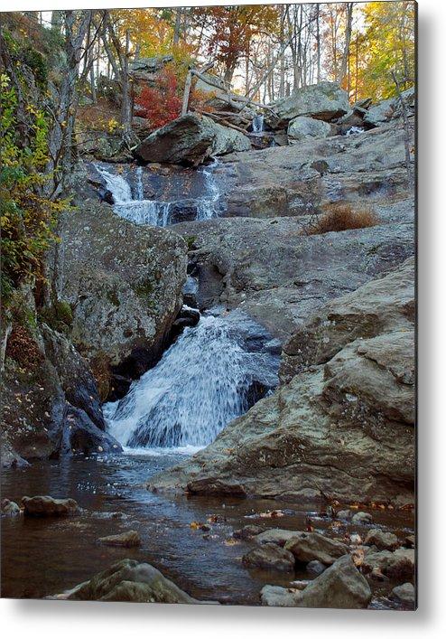 Cunningham Falls Metal Print featuring the photograph Cunningham Falls by Mark Dodd
