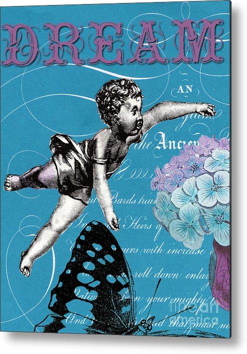 Dream Metal Print featuring the digital art Dream by Ricki Mountain