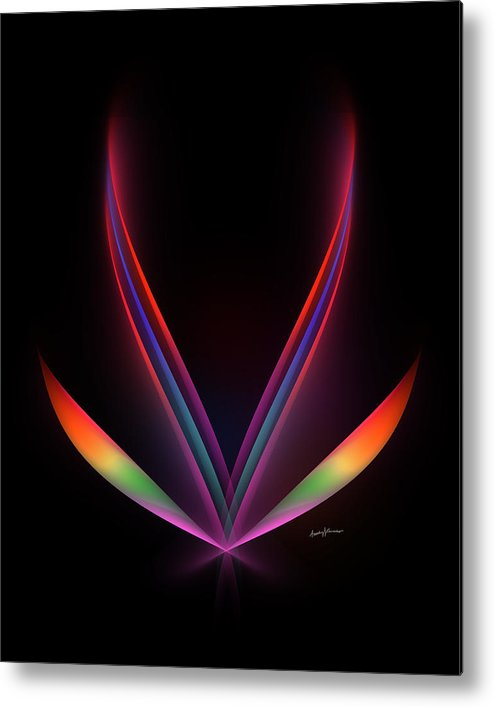 Abstract Metal Print featuring the digital art Hope by Anthony Caruso