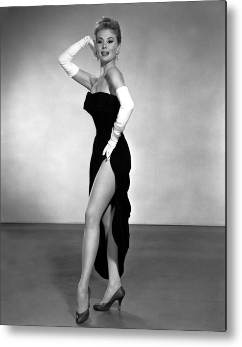 1950s Portraits Metal Print featuring the photograph Les Girls, Mitzi Gaynor, 1957 by Everett
