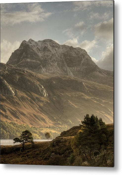 Scotland Metal Print featuring the photograph Morning Glory by Colette Panaioti