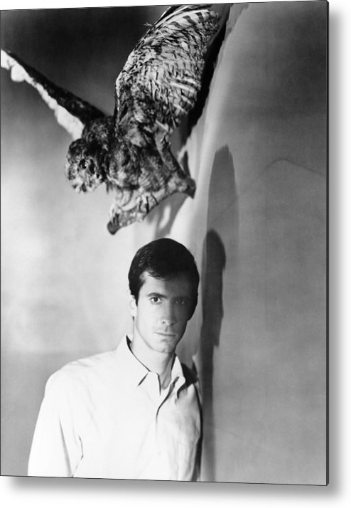 1960 Movies Metal Print featuring the photograph Psycho, Anthony Perkins, 1960 by Everett