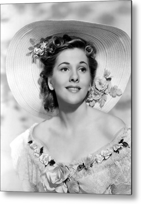 1940 Movies Metal Print featuring the photograph Rebecca, Joan Fontaine, 1940 by Everett