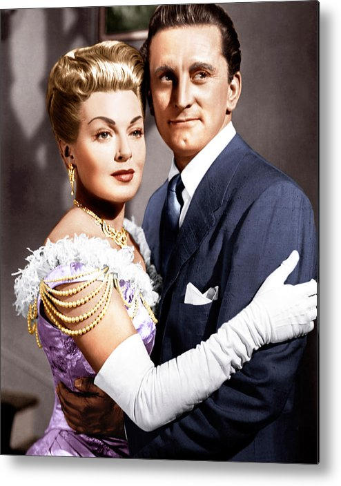 1950s Movies Metal Print featuring the photograph The Bad And The Beautiful, From Left by Everett
