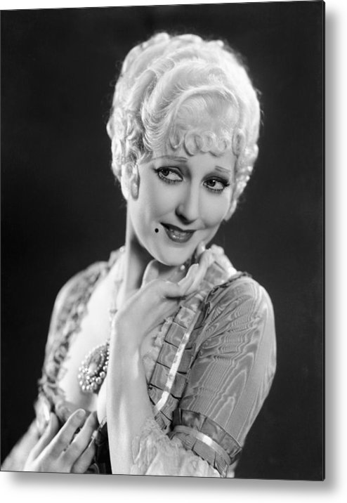 1930s Movies Metal Print featuring the photograph The Devils Brother, Thelma Todd, 1933 by Everett