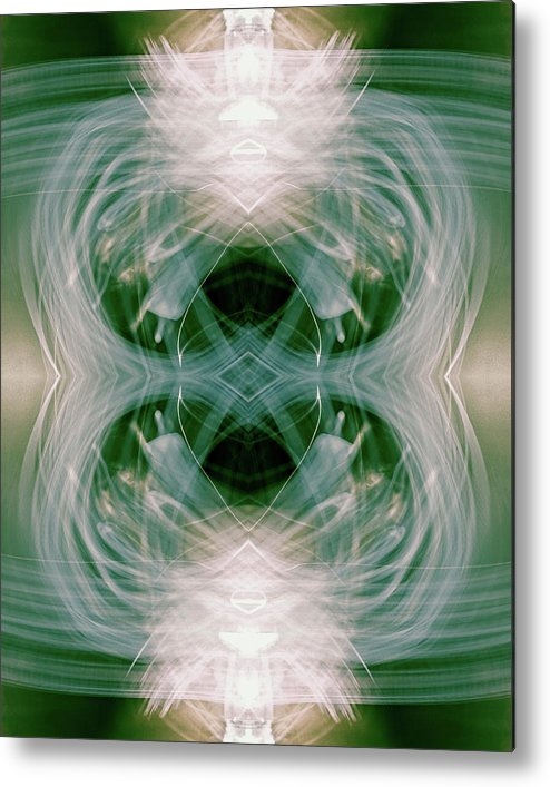 Abstract Metal Print featuring the photograph The Welcome by Taylor Steffen SCOTT