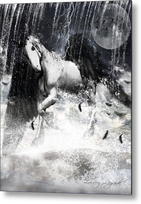 Unicorn Metal Print featuring the photograph Unicorn's Complexities by Lourry Legarde