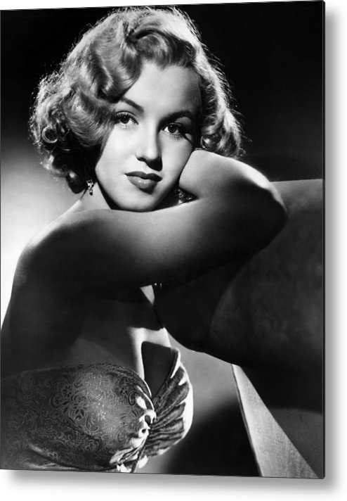 1950 Movies Metal Print featuring the photograph All About Eve, Marilyn Monroe, 1950 by Everett