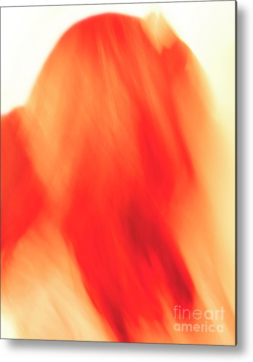 Abstract Metal Print featuring the photograph Abstract Hair by Steve Savoie