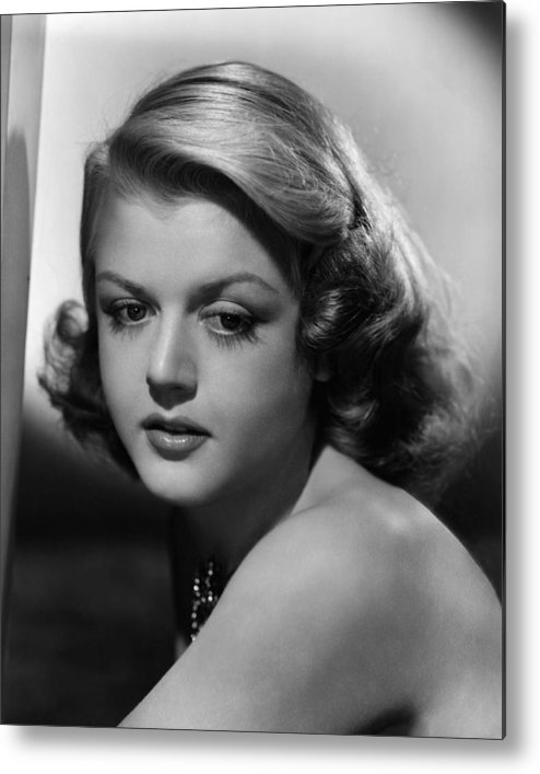 1940s Portraits Metal Print featuring the photograph Angela Lansbury, 1948 by Everett