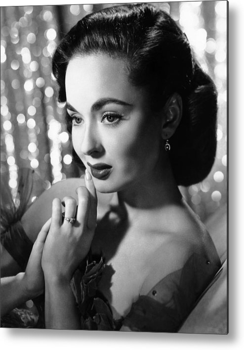 1950s Portraits Metal Print featuring the photograph Ann Blyth, Ca. 1950s by Everett