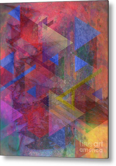 Another Time Metal Print featuring the digital art Another Time by John Beck