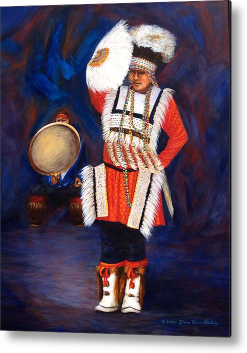 Alaska Metal Print featuring the painting Arctic Rhythms by Dianne Roberson