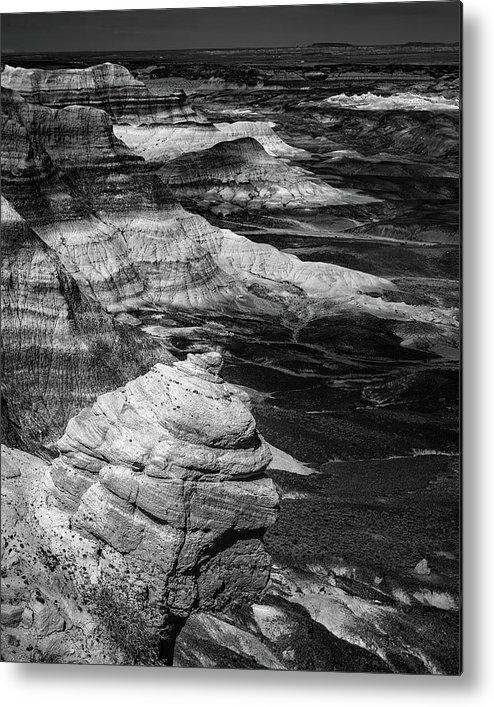 Blue Mesa Metal Print featuring the photograph Blue Mesa Outcrop by Joseph Smith
