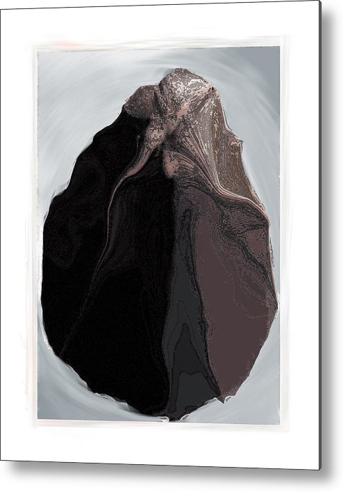 Still Life Metal Print featuring the digital art Clamscape by Nuff