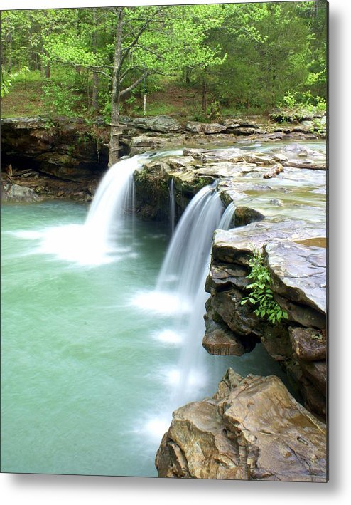Falling Water Falls Metal Print featuring the photograph Falling Water Falls 5 by Marty Koch