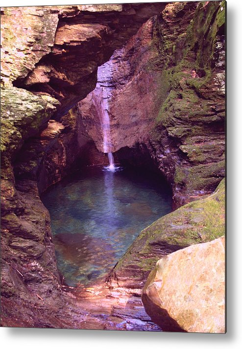 Waterfall Metal Print featuring the photograph Hidden Treasure by Peter Gray